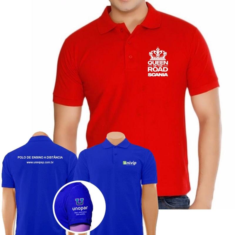 amplia selección adecuado para hombres/mujeres comprar original Camiseta Empresa Uniforme Mais Barata Cubatão - Camiseta ...