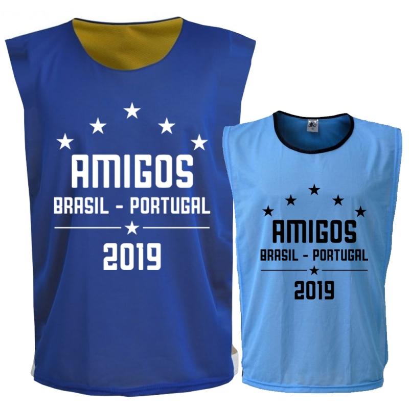 2e7b92ce159a7 Colete de Futebol Dupla Face - UNIPLACE ARTIGOS ESPORTIVOS