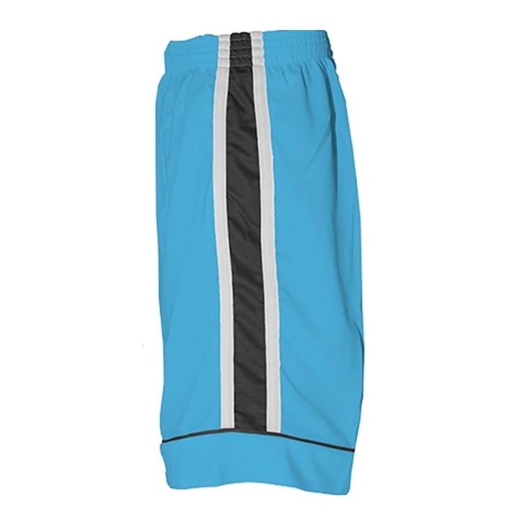 b5a8f4c950 Calção de Futebol Arzani Azul Celeste com Branco e Preto - UNIPLACE ...