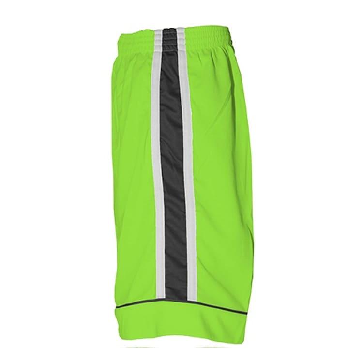 Calção de Futebol Arzani Verde Limão com Branco e Preto - UNIPLACE ... f630fec9edf5f