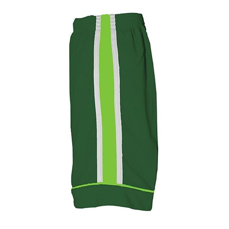 Calção de Futebol Arzani Verde com Branco e Verde Limão - UNIPLACE ... 0a3ba6a84cec3