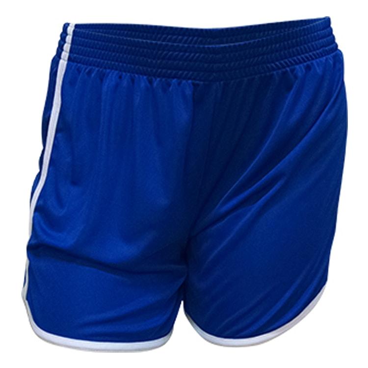 0532a0bba8 Calção de Futebol Feminino Ferrara Azul Royal com Branco - UNIPLACE ...