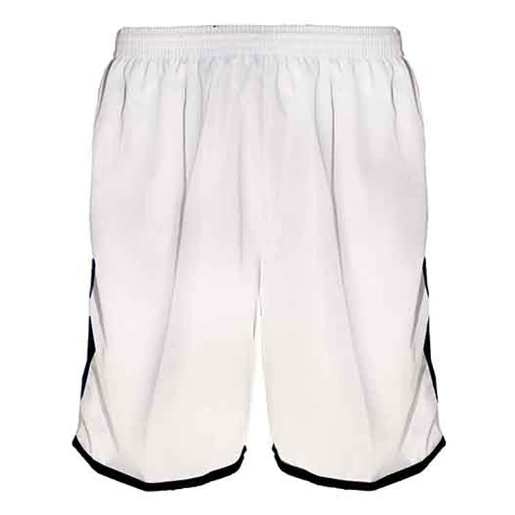 Calção de Futebol Lottus Branco com Preto - UNIPLACE - Coletes e ... a8a8e295e0f52