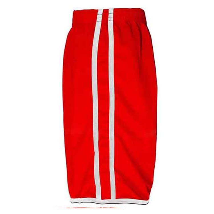 Calção de Futebol Lottus Vermelho com Branco - UNIPLACE - Coletes e ... fa8cafc40a277