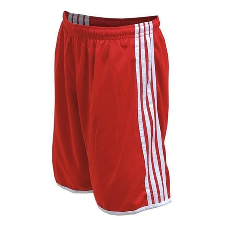 e011b01299 Calção de Futebol Luxo Vermelho com Branco - UNIPLACE - Coletes e ...