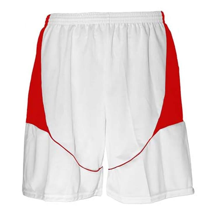 Calção de Futebol Munique Branco com Vermelho - UNIPLACE - Coletes e ... 81189891e8110