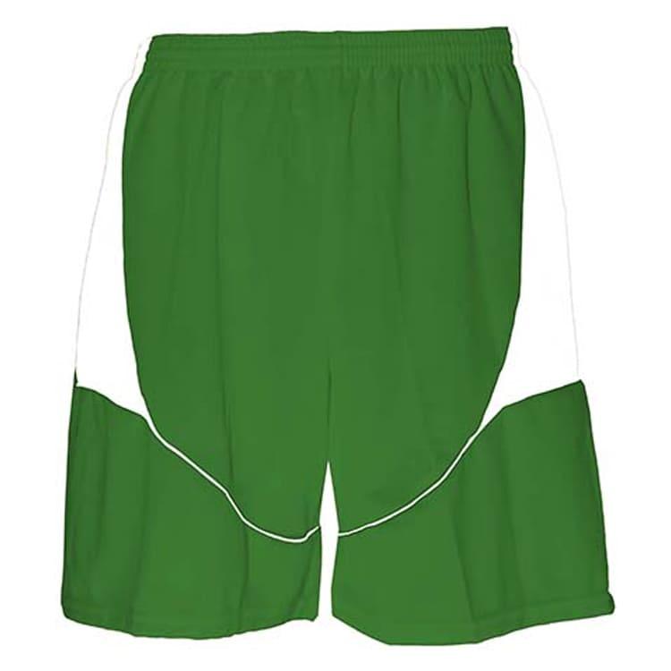 Calção de Futebol Munique Verde com Branco - UNIPLACE - Coletes e ... 22421538c9e28