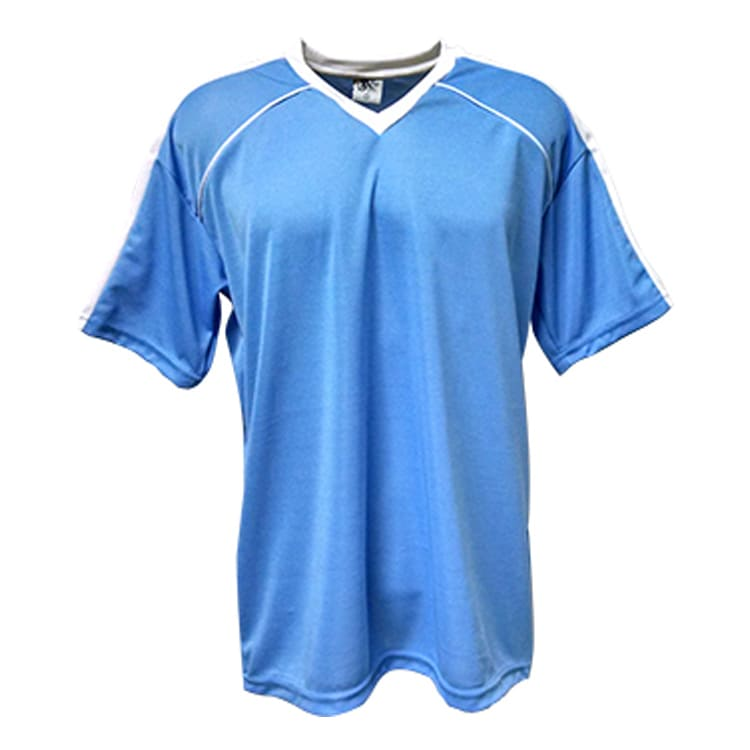 Camisa de Futebol Arezzo Azul Celeste com Branco - UNIPLACE ... eb47675bda163