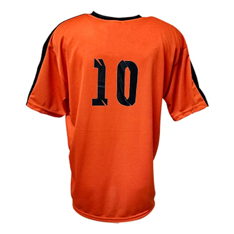 49ed5acfc2 Camisa de Futebol Arezzo Laranja com Preto - UNIPLACE - Coletes e ...