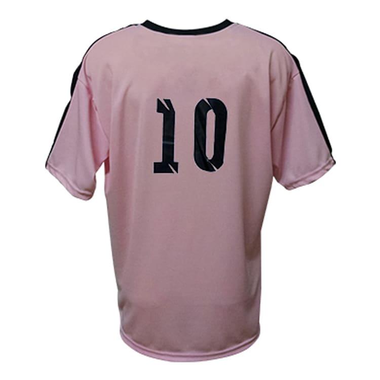 Camisa de Futebol Arezzo Rosa com Preto - UNIPLACE - Coletes e ... 55e9f940254c7