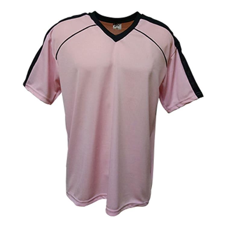 7592d3ca76 Camisa de Futebol Arezzo Rosa com Preto - UNIPLACE - Coletes e ...
