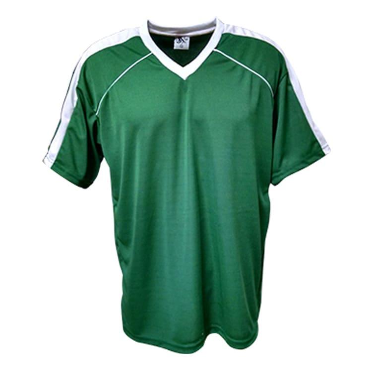 cd3be558cf Camisa de Futebol Arezzo Verde com Branco - UNIPLACE - Coletes e ...