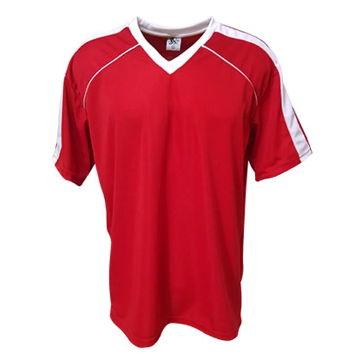 7daf8c4e3a Camisa de Futebol Arezzo Vermelha com Branco - UNIPLACE - Coletes e ...