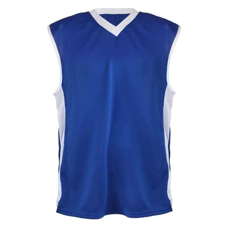 4926a35a46 Camisa de Basquete Azul Royal com Branco - UNIPLACE - Coletes e ...