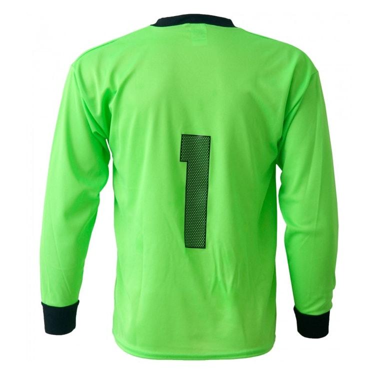 Camisa de Goleiro Lisa Verde Limão - UNIPLACE - Coletes e Uniformes ... b6dac80229ccd