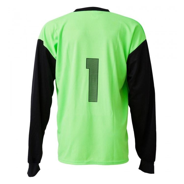 Camisa de Goleiro Lisa Verde Limão com Preto - UNIPLACE - Coletes e ... af6a4a924230c