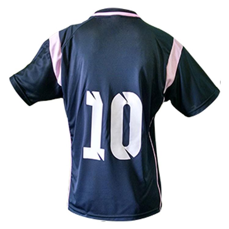 8f2e2e6840 Camisa de Futebol Ferrara Preta com Rosa - UNIPLACE - Coletes e ...