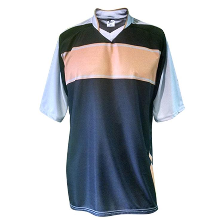 Camisa de Futebol Lottus Premium Cinza com Preto e Dourado ... 3b85d8f0ed0bf