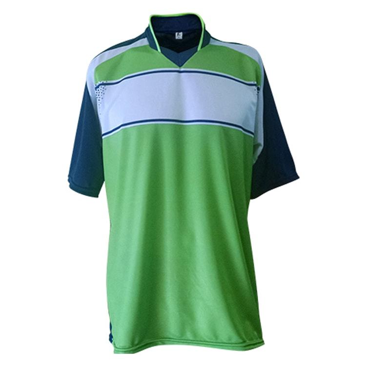 Kit Uniforme de Futebol Lottus Azul Marinho com Verde Limão ... db4deedfad0b9