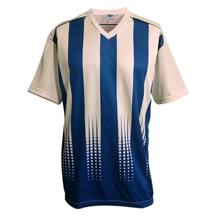 6dc8258224 Kit Uniforme de Futebol Sorento Branco com Azul Royal - UNIPLACE ...