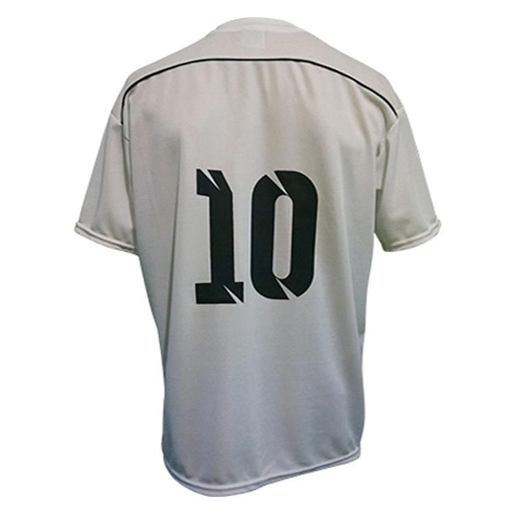 Camisa de Futebol Sorento Branco com Preto - UNIPLACE - Coletes e ... 28d458236e89a