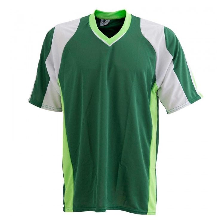 Camisa de Futebol Texas Verde com Branco e Verde Limão - UNIPLACE ... 1aabd1436dae4