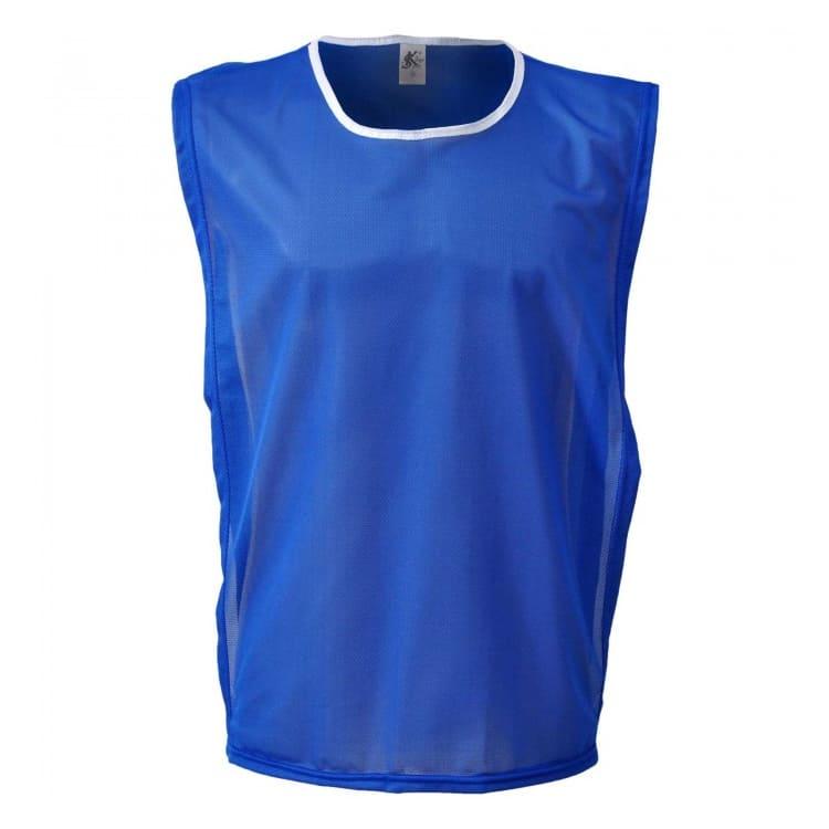 9533a68f6cb304 Colete de Futebol Poliéster Azul Royal - Coletes Personalizados e ...
