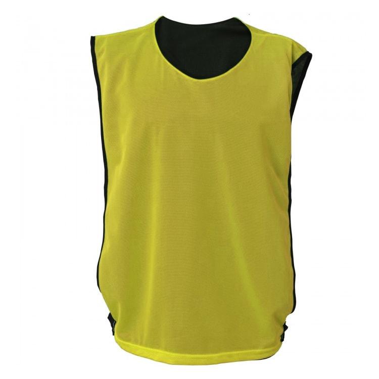 52242eb464 Colete de Futebol Dupla Face Amarelo com Preto - UNIPLACE - Coletes ...