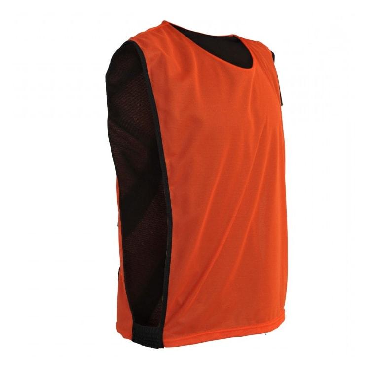 Colete de Futebol Dupla Face Dry Laranja com Preto - UNIPLACE ... 29fb22a6d9a24