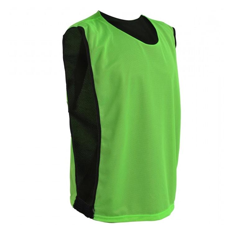 Colete de Futebol Dupla Face Verde Limão com Preto - UNIPLACE ... 810b60aadf6c9