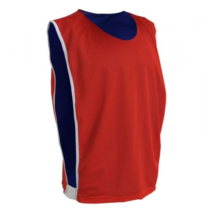 2807548b97 Colete de Futebol Dupla Face Dry Vermelho com Azul Royal - UNIPLACE ...
