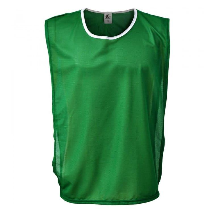30d5fc25fd89ad Colete de Futebol Poliéster Verde - Coletes Personalizados e ...