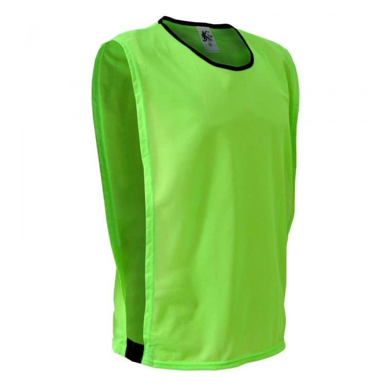 bb022d85624a92 Colete de Futebol Poliéster Verde Limão - Coletes Personalizados e ...
