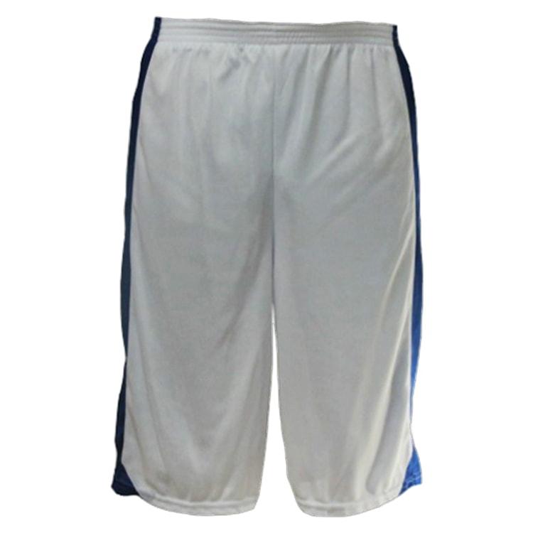 8798f91ff9 Bermuda de Basquete Branco com Azul Royal - UNIPLACE - Coletes e ...