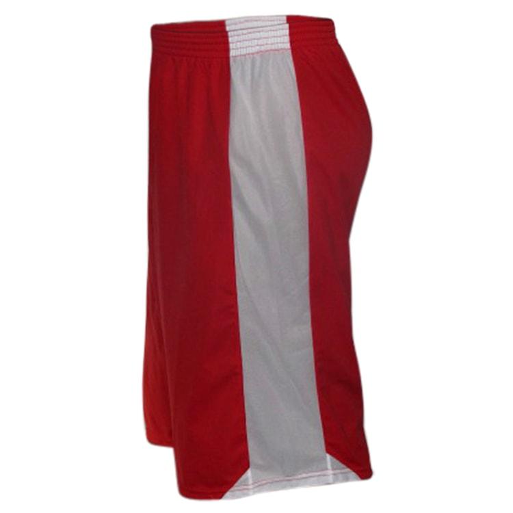 bc49600616 Bermuda de Basquete Vermelho com Branco - UNIPLACE - Coletes e ...
