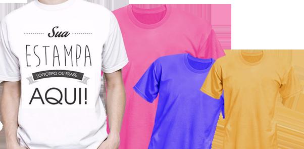 b51d1e45f7 Camisetas Personalizadas - Faça seu Orçamento - 11 94004-7080
